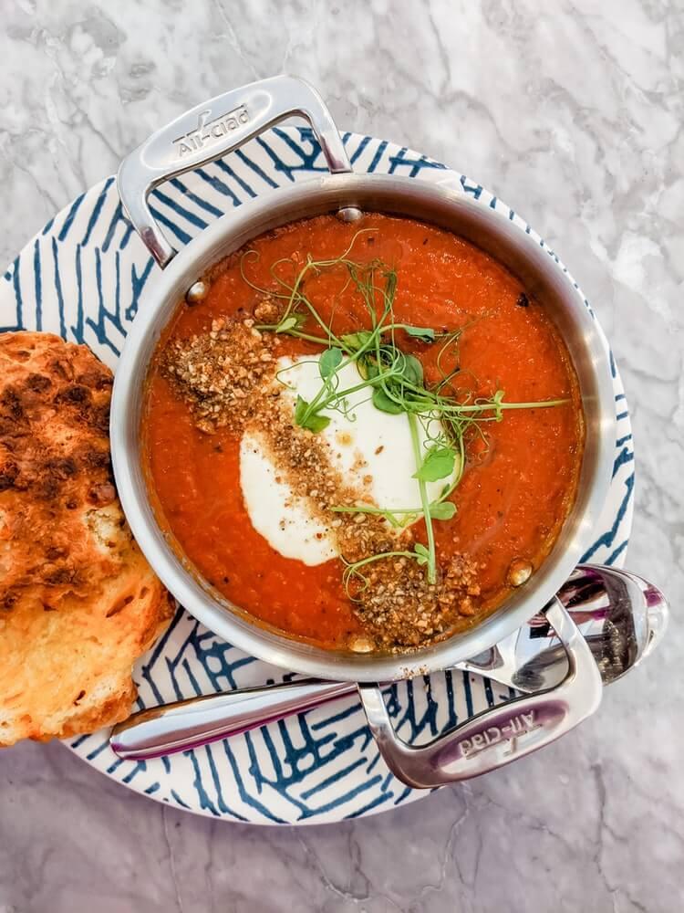 beste tomatsuppe